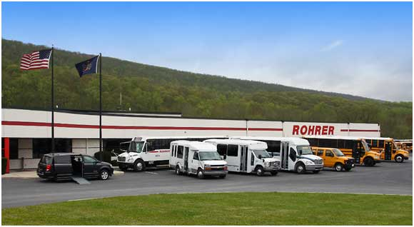 rohrer bus sales headquarters